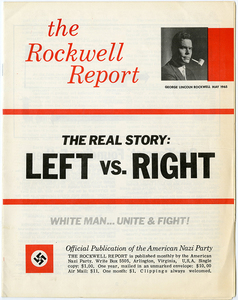 The Rockwell Report, May 1965 [American Nazi Party]