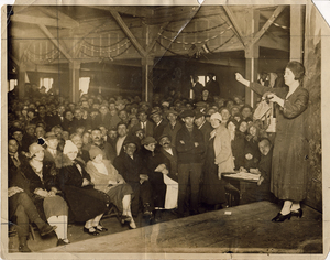 American Labor Mus_Labor Meeting_woman with gas mask rsz.jpg