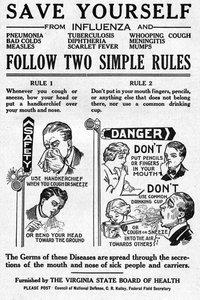 VCU_TML_Influenza placard 1919.jpg